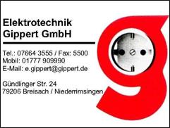 Elektrotechnik Gippert