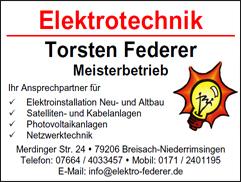 Elektro Federer
