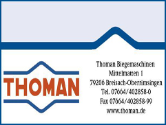 Biegemaschinen Thoman